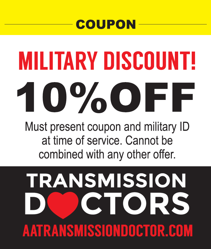 military discount for transmission repair muffler repair general auto repair