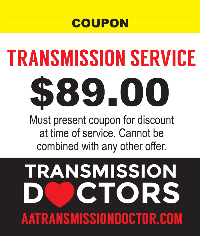Transmission service Charleston SC coupon discount